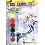 Pokémon Diamond Pearl, La Región De Sinnoh. Pintamania Acuar