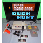 Consola Nintendo Nes Mario 1/duck Hunt + 2 Juegos C/garantia