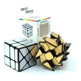Cubo Rubik Moyu Mofangjiaoshi Wind Mirror Lubricado