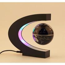 Globo Levitacion Magnetica Con Luz Led Manual