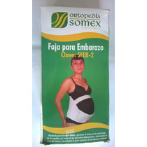 Faja Para Embarazo. Ayuda Con El Peso Del Bebé