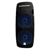 Bafle Audiobahn 2x15 Triamplificado Entrada Usb Sd Bluetooth