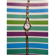 Reloj, Extensible Color Oro Rosado