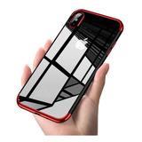 Funda Ultra Slim Transparente iPhone 6 7 8 Plus X Max +mica