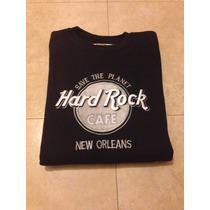 Sudadera Hard Rock Café New Orleans. Talla M. Muy Buena!