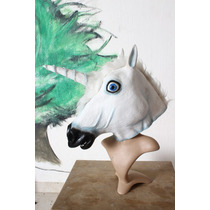 Unicornio Mascara De Latex Harlem Shake Youtube