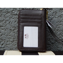 Cartera Monedero Estuche Iphone Coach Cafe 100% Original