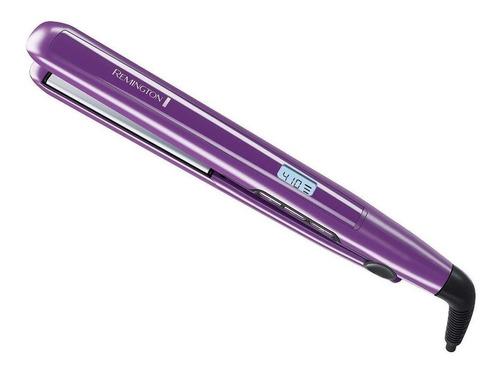 Plancha De Cabello Remington 1  Flat Iron With Anti-static Technology S5500 Violeta Con Placas De Cerámica Y Titanio 110v