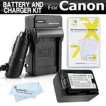 Batería Y Cargador Del Kit Para Canon Vixia Hf R52 Hf R50 Hf