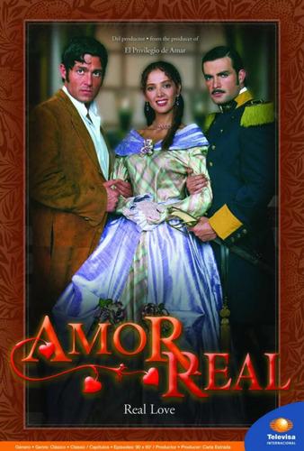 Amor Real Telenovela Completa 10 Dvd Única Disponible