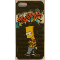Funda Protector Mobo Apple Iphone 5/5s Negra/bart Graffiti