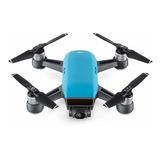 Drone Dji Spark Fly More Combo Con Cámara Hd Sky Blue