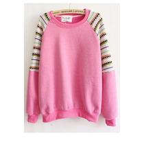 Suku 70980 Sweater Amplio Decorado En Hombros Moda Asia$439