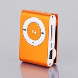 Reproductor Mp3 Shuffle Micro Sd + Audifonos Metalico