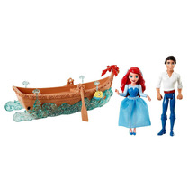 Ariel Y Eric Paseo En Bote Sirenita Disney Matel Fn4
