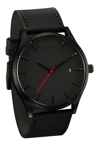 Reloj Casual Y Elegante Color Negro Para Hombre