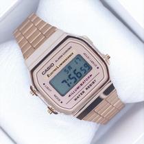 7edde8f3ef22 Reloj Casio Golden Rose   Rosa Cobre Retro Vintage Clasico en venta ...