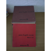 Junior English Course Didactron Completo Con Word List