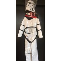 Disfraz De Lujo Original Star Wars Niño Stormtrooper