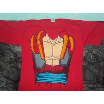 Playera Dragon Ball Gt De Cuerpo Goku Super Sayayin 4 Tall M