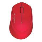 Mouse Logitech M280 Rojo