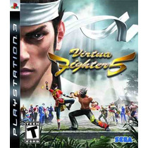 Virtua Fighter 5 Ps3 Nuevo Sellado Original Fn4