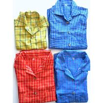 Remate De Lote De 30 Camisas De Cuadros