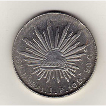 0jo. 8 Reales Do. 1891 J.p.