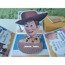 Invitacion Caja Explosiva Fiesta Woody Toy Story En Venta En Las
