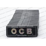 25 Papel Ocb Premium Zig Zag 1 1/4 Ultrathin Quemado Lento