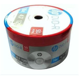 50 Dvd Hp Virgen Logo 16x 4.7 Gb Producto Original Facturado