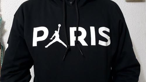 Personalizada Psg Jordan En Sudadera Venta Negra Con Paris Capucha LGSUMVjqpz