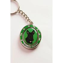 Llavero Scottish Terrier - Acero Inoxidable - Hermoso!