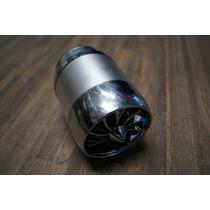 Filtro Alto Flujo Ventilador Moto Universal Gris