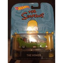 Hot Wheels 2016 Retro The Homer - Simpsons - Llantas De Goma