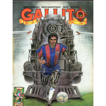 Revista Gallito No.30, Hugo Sánchez En Portada, 90p. 1 Tinta