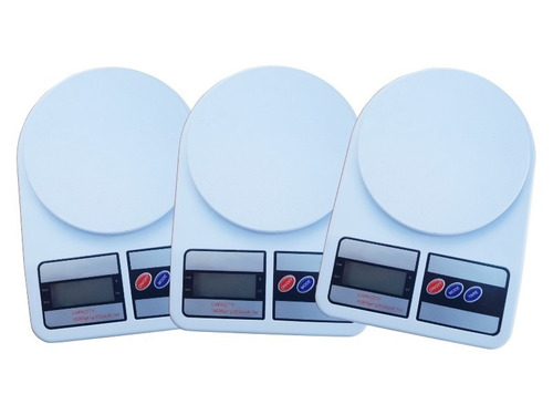 3 Pz Bascula Digital Lcd 1 Gramo A 10 Kilos Alta Precisión
