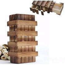 Caja Mágica China, De Madera