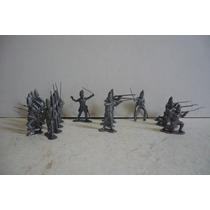 Set De Soldado Britanico - Muñeco De Juguete Copia Marx