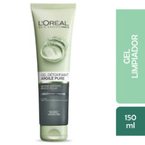 Gel Limpiador Facial Arcillas Puras Loreal , 130ml