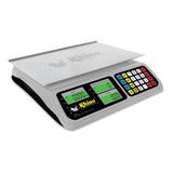 Báscula Comercial Digital Rhino Bar-8 40 Kg 110v Gris/gris Oscuro