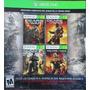 Coleccion Completa Gears Of War Para Xbox One Y Xbox 360