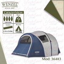 Casa Campaña Wenzel Para 4 Personas (inflable) 36483
