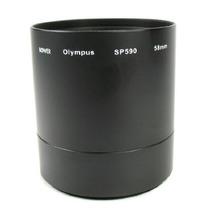Tubo Adaptador 58mm Usar Lentes Y Filtros Olympus Sp-590 Fn4