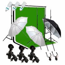 Set De Luces Para Estudio Fotográfico Profesionales Completo