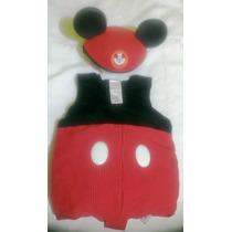 Disfraz De Mickey Mouse Para Niño De Talla 3 Como Nuevo