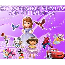Kit Imprimible Premium Todo Fiesta Infantil Princesa Sofia