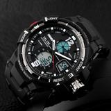Reloj Tipo Militar Sport Navy Seal 4 Colores Sumergible 30m