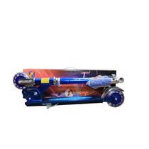 Scooter Valiente De Aluminio Con Luces En Las Llantas