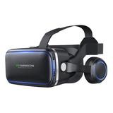 Gafas Lentes De Realidad Virtual 3d Con Control Y Audifonos